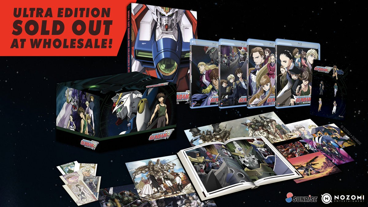 gundam wing collectors ultra edition