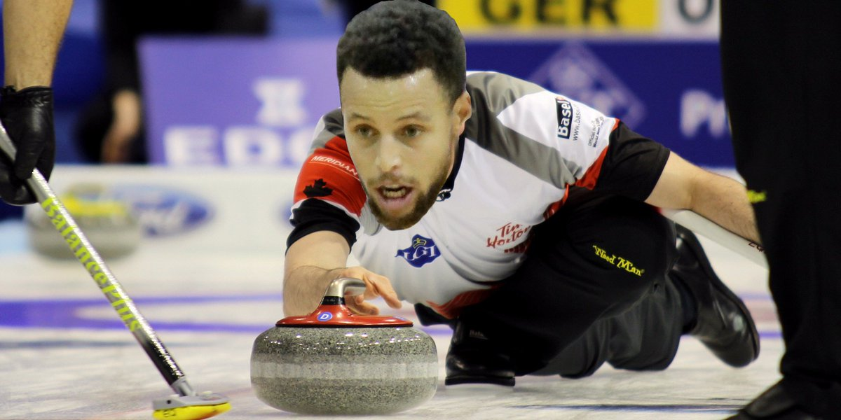 Steph Curling #AddWinterSportsToAnything...