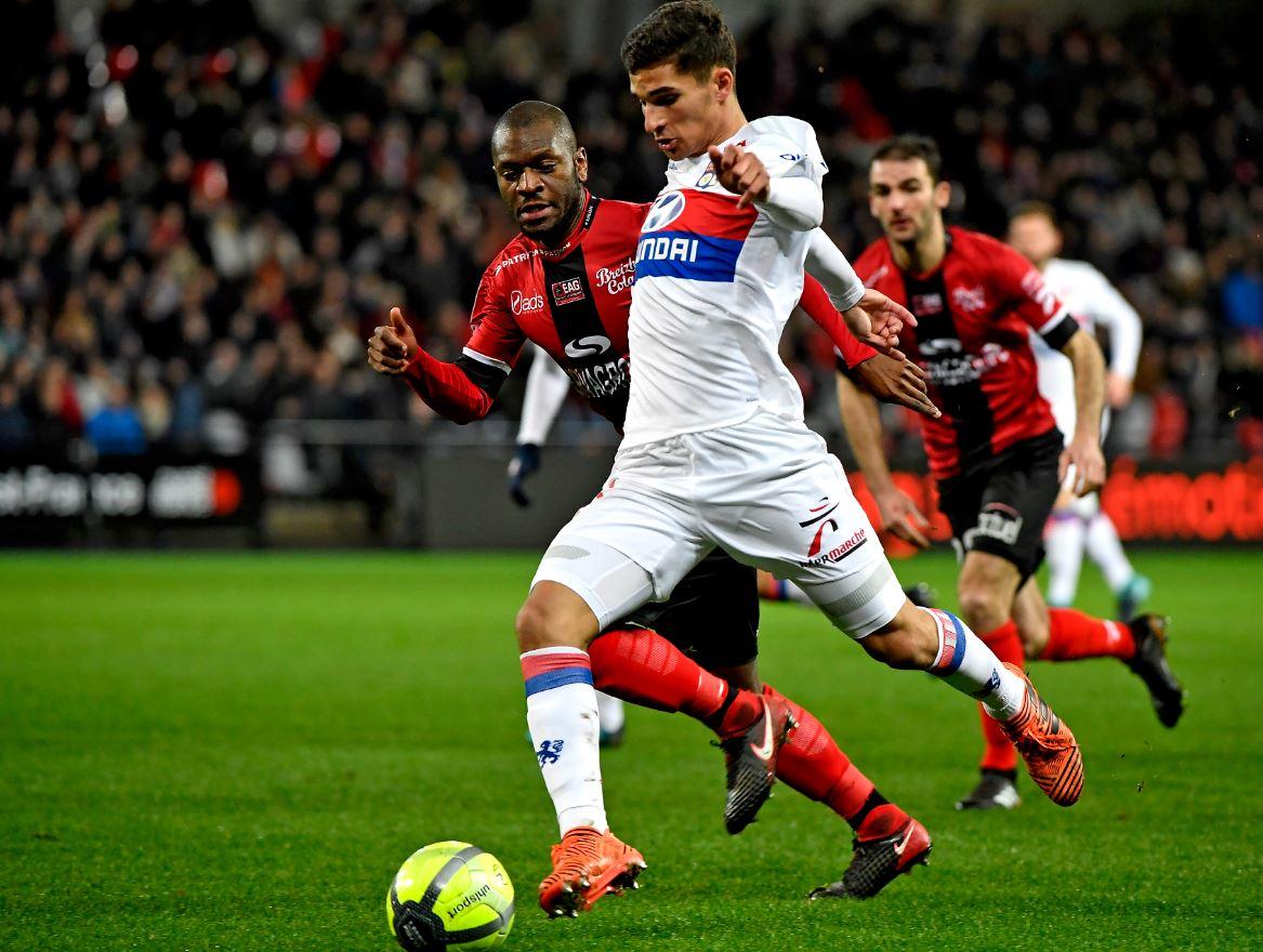 Guingamp 0-2 Lyon Highlights