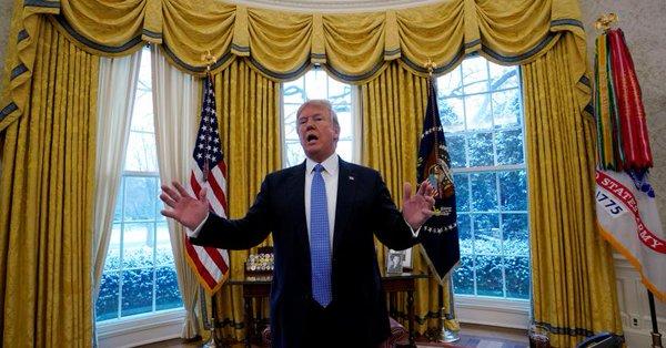 🔴 BREAKING NEWS - #USA: Le président américain Donald #Trump a déclaré que la Russie aidait la Corée du Nord à s'approvisionner en violation des sanctions internationales et que #Pyongyang se rapprochait chaque jour davantage d'un missile à longue portée aux Etats-Unis.' #urgent
