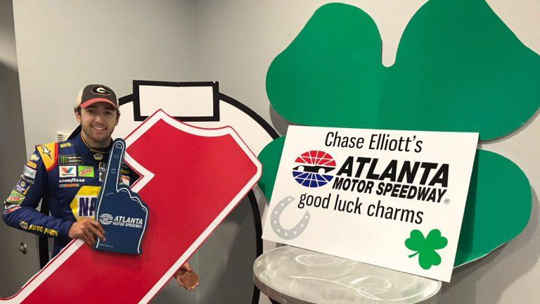 Atlanta Motor Speedway accepting lucky charms to help Chase Elliott earn first Cup win https://t.co/RDCbRIdE1B