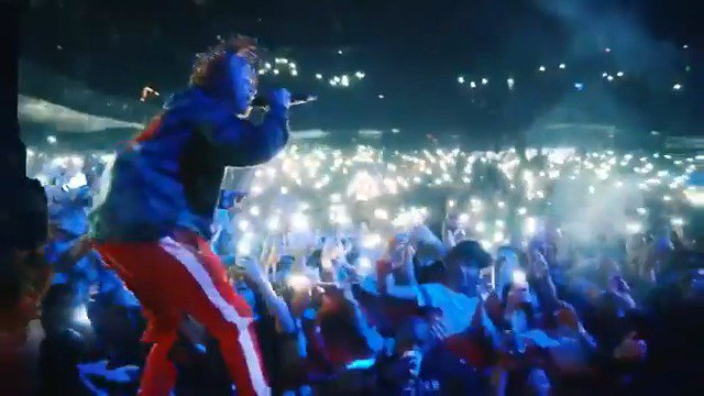 Confirmation that Dark Knight Dummo absolutely goes off live. @trippieredd