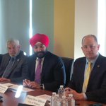 Thank you Minister @NavdeepSBains for your time in Windsor today discussing NAFTA, trade innovation and autonomous vehicles.
