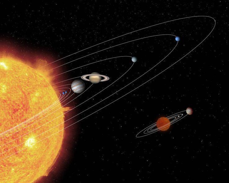 Le jeune Soleil aurait avalé plusieurs super-Terre, aidé par Jupiter. Quels sont les origines du système solaire ? Et comment en est-il arrivé à l'architecture qu'on lui connait aujourd'hui ? #science #astronomie https://t.co/GJs595GaQA
