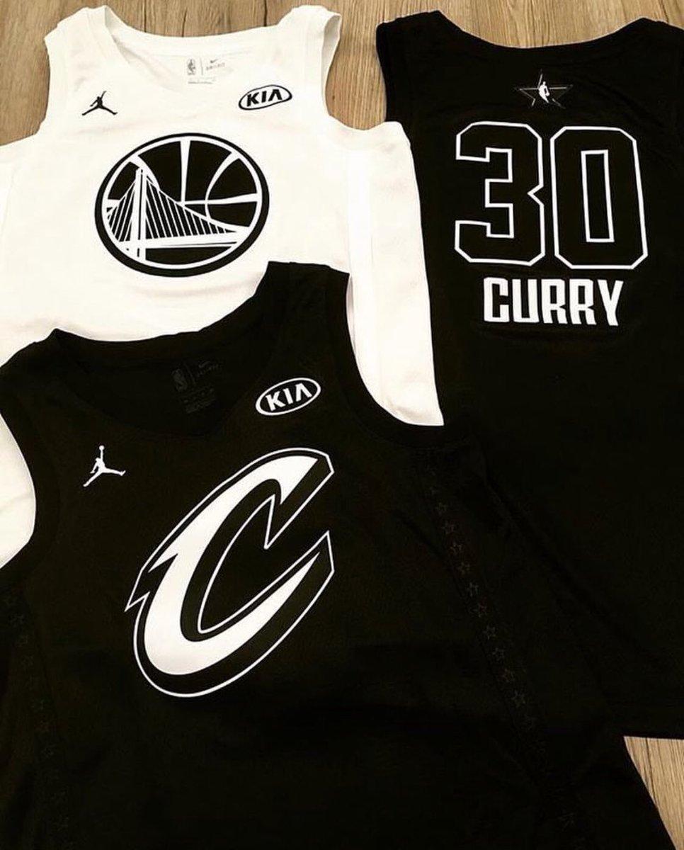 疑似明星賽球衣設計流出,LBJ Curry 將會成為東西岸隊長?