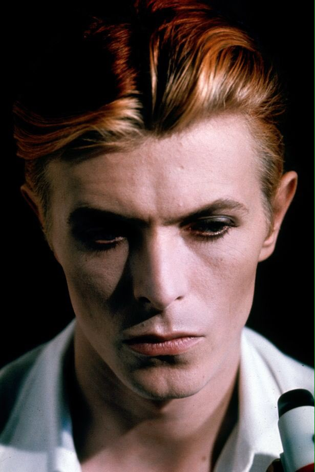 THE MAN WHO FELL TO EARTH:  David Bowie....