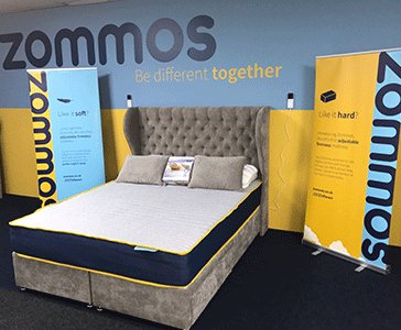 zommos on twitter try out the uks first adjustable firmness mattress at our premier showroom display at in2beds httpstcoprjynuyohk - Adjustable Firmness Mattress