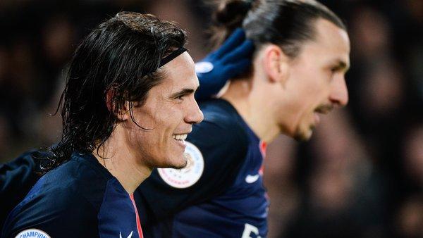 But de Cavani ! Le Matador marque son 156e buts avec Paris et égale le record de Zlatan Ibrahimovic ! Encore un but et il sera le meilleur buteur du PSG toutes compétitions confondues  #PSG