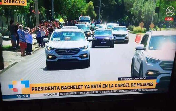 RT @michellenomasab: Y.... Finalmente   #Bachelet presa https://t.co/K8PgIorZYT