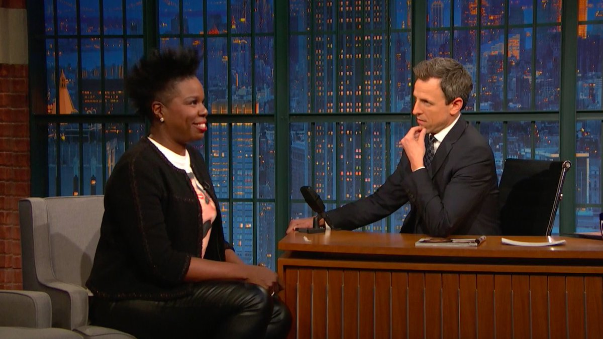 RT @LateNightSeth: That one time @Lesdoggg tried to be a world class gymnast — in her own bathroom. #LNSM https://t.co/ElUToxKR8h
