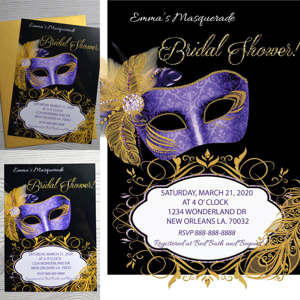 invitation bachelorette party bridalshower bridesmaids bride bacheloretteparty mardigras mardigras2018 wedding etsy etsysale etsylovers