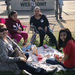 6th grade Lunch with a Loved One. It's great to see our parents enjoying lunch with their students. @AnaheimElem