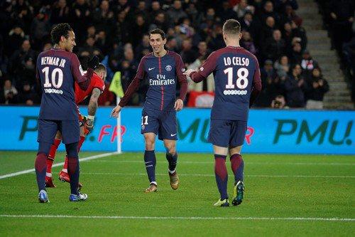 法甲精華 - 巴黎聖日耳門 8-0 迪安│尼馬連過六人一射破網 卡雲尼平隊史入球紀錄