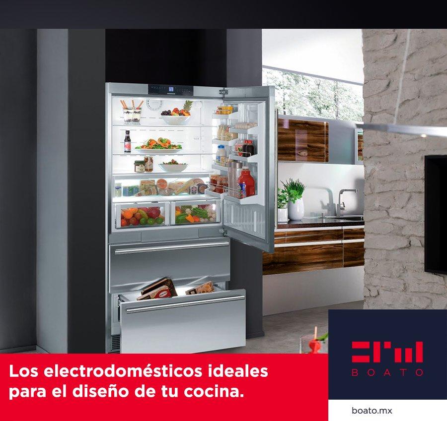 El electrodoméstico ideal para tu hogar; Belleza y elegancia para el diseño ideal de tu cocina.  #BOATO #InteriorDesign #KitchenDesign https://t.co/vRpW6CKxaC