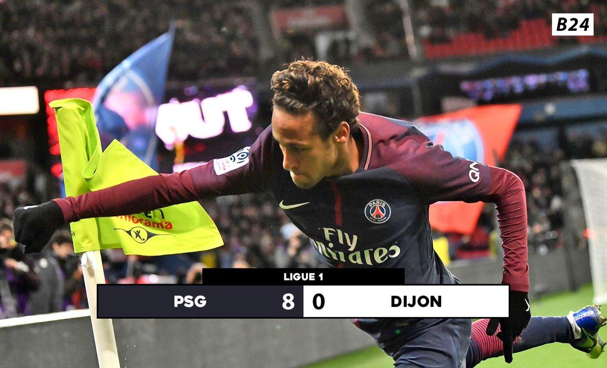 RT @B24pt: PSG arrasa o Dijon com QUATRO golos e DUAS assistências de Neymar 🔥 https://t.co/gWVFiepgl5