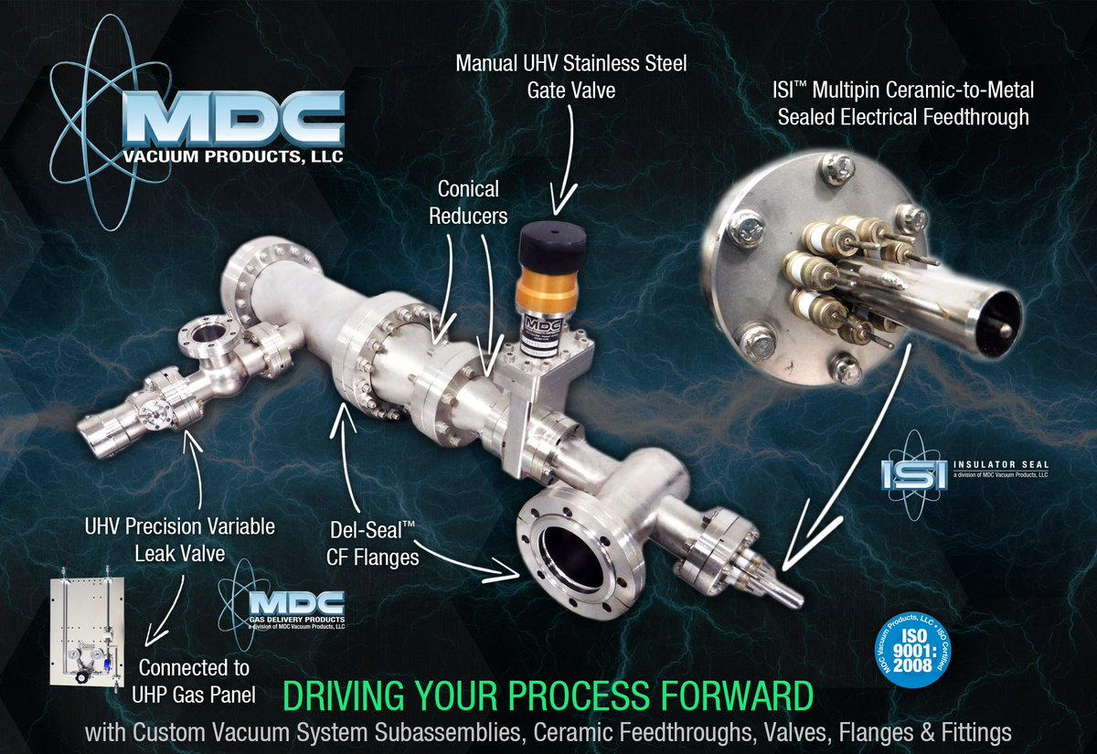 Vacuum System Sub Assemblies W Components For Your Electrical And Gas Delivery Processes Mdcvacuum MDCMainaspx