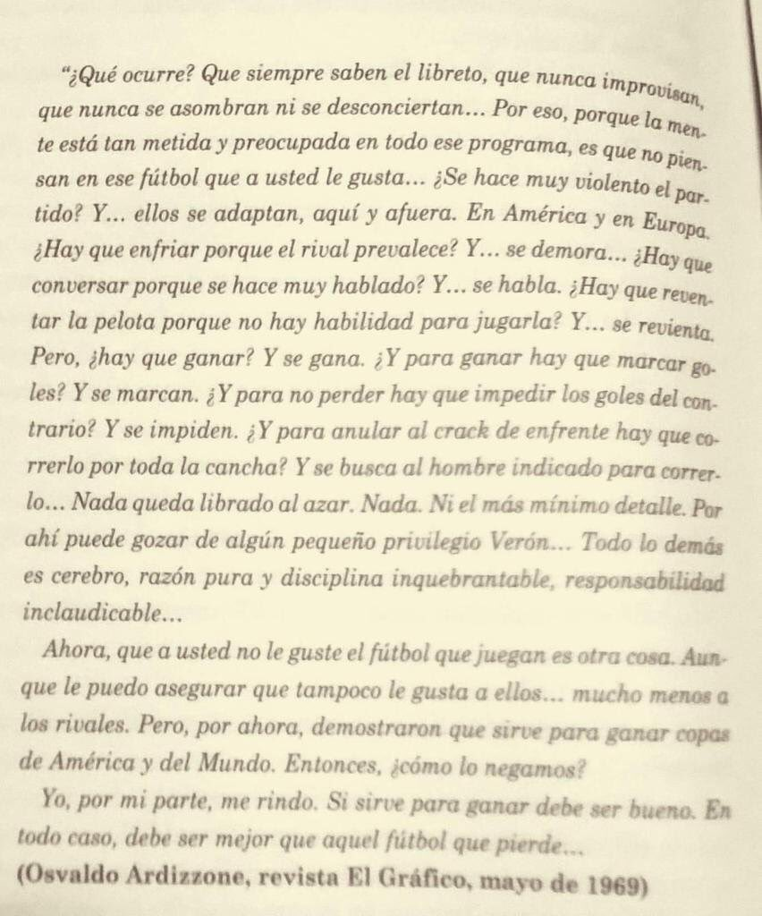 RT @FerKogan: El prólogo de nuestra Constitución Resultadista. Ardizzone sobre el gran Osvaldo Juan Zubeldía. https://t.co/g0JJBoWbqd