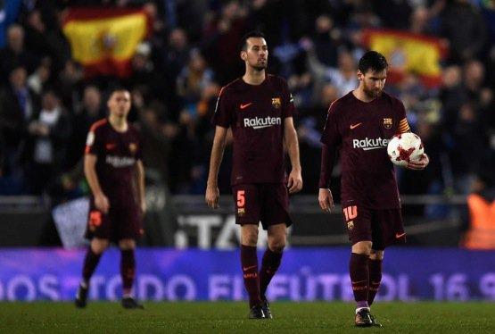 Chấm điểm kết quả Espanyol 1-0 Barcelona