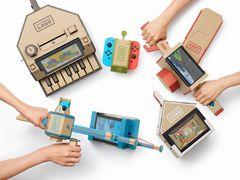 Nintendo Switchのコントローラをダンボールで作る新しい遊び「Nin...