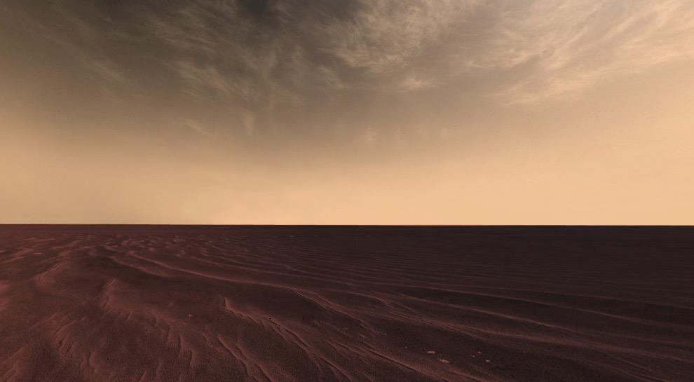 Mosaic of images from NASA's Mars Rover...