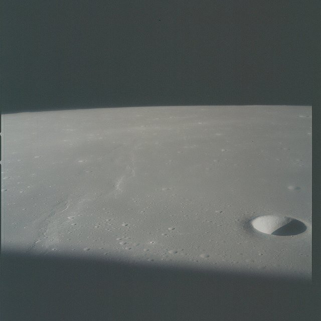 Apollo 15, LM Extraction, Earth, Lunar O...
