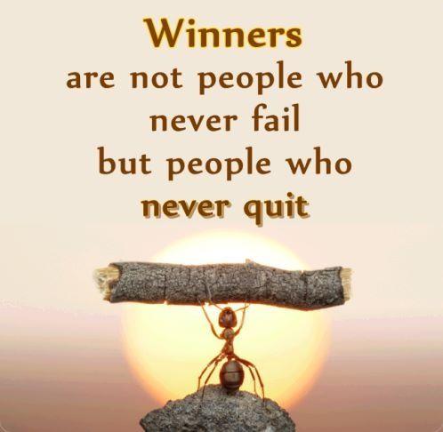 life winning quotes