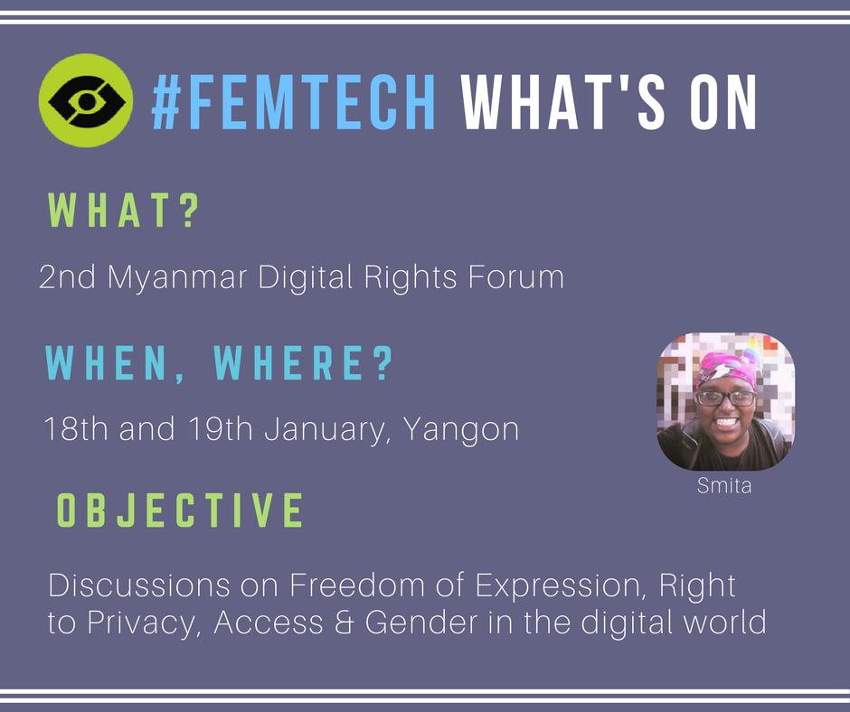 Myanmar Digital Rights Forum