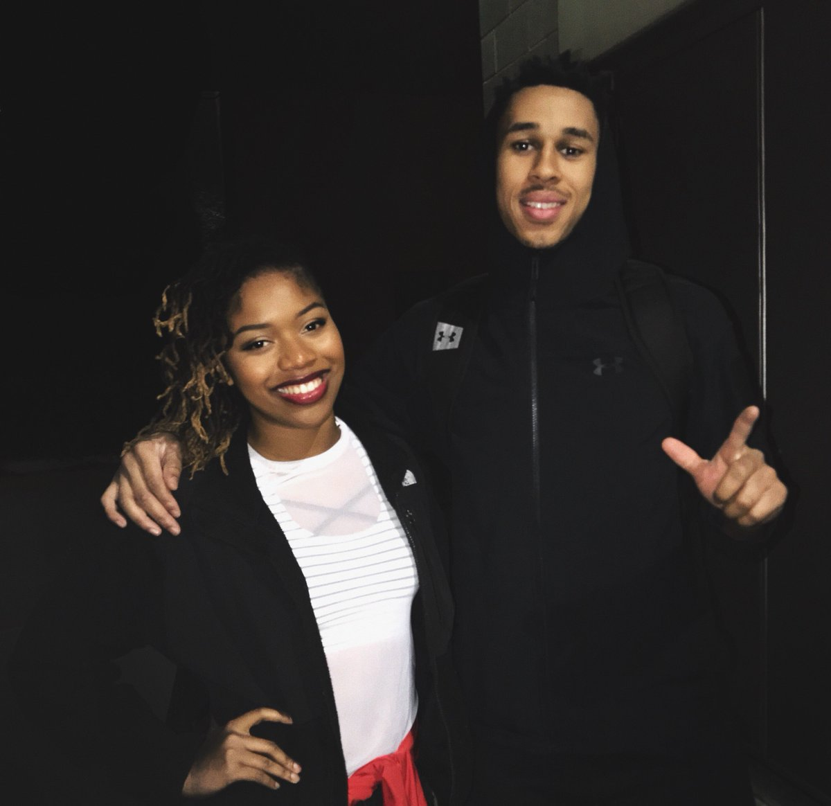 Big ups to Z!! Hes killing the game, literally🚨 Great job tonight! @zhaire_smith