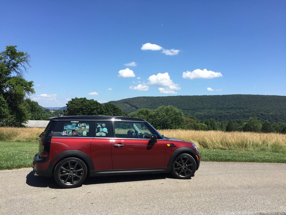 My @MINI #MakesMyWorldGoAround AND it ge...