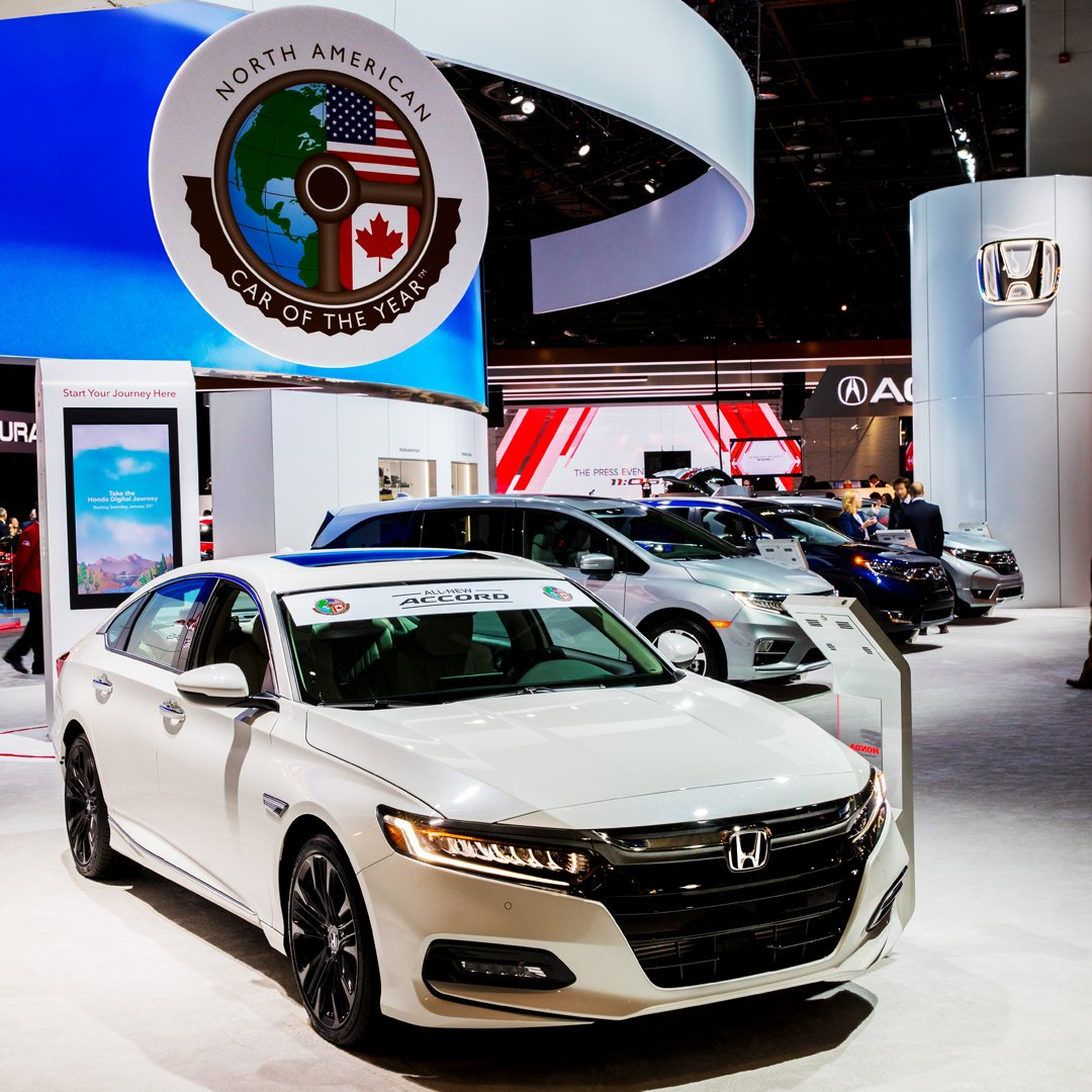 Honda On Twitter Our Week Was Made When The 2018 Accord Named North American Car Of Year At International Auto Show