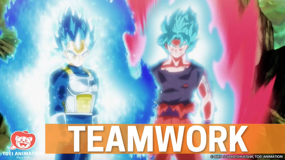 Vegeta and Goku team up 😍 (via Dragon Ba...