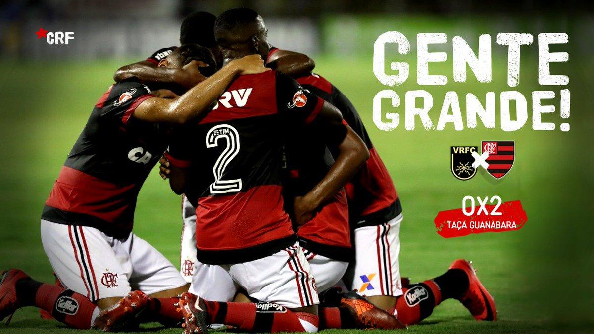 Que estreia! Com muita dedicação, autoridade, velocidade e precisão, ganhamos em Volta Redonda! Uma vitória de #GenteGrande! 2x0, gols de Lucas Silva e Pepê.