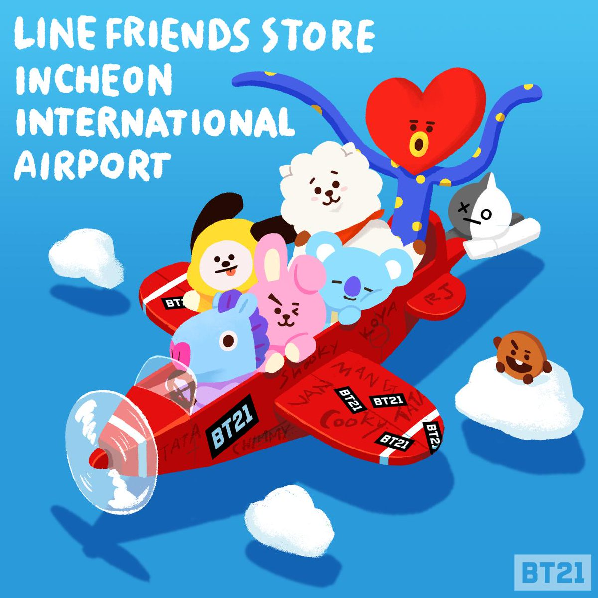 #BT21 all on board! Now available at #LI...
