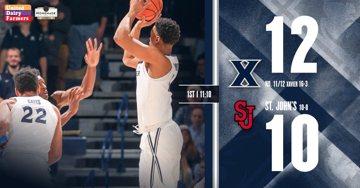Xavier still perfect from the line.   #L...