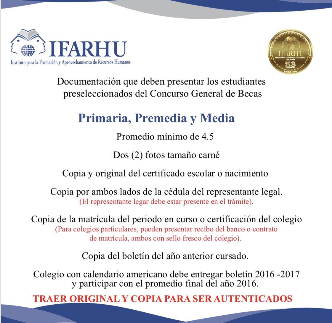 IFARHU on Twitter: \