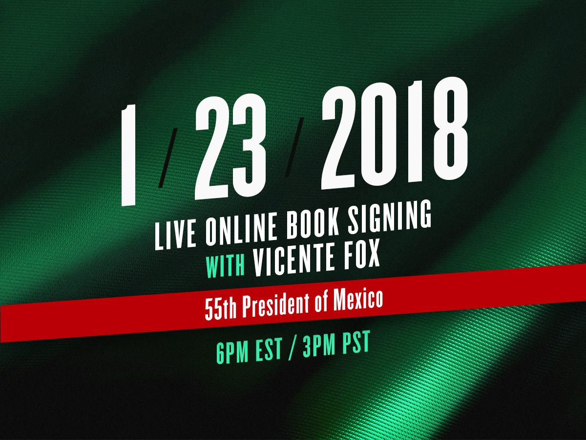 Join me this January 23rd on a Facebook Live book signing of my new book: Let's move on beyond fear and false prophets. Get your signed copy and ask me a question at https://t.co/wPZAQK2LL4