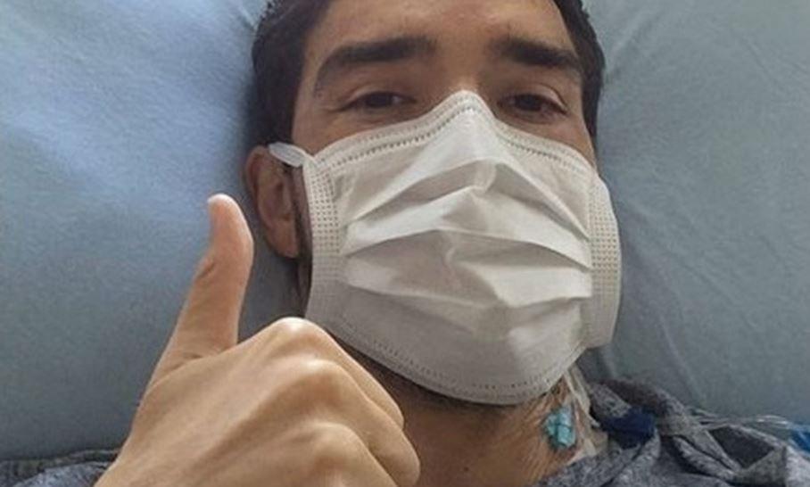 Ex-jogador luta contra leucemia e precis...