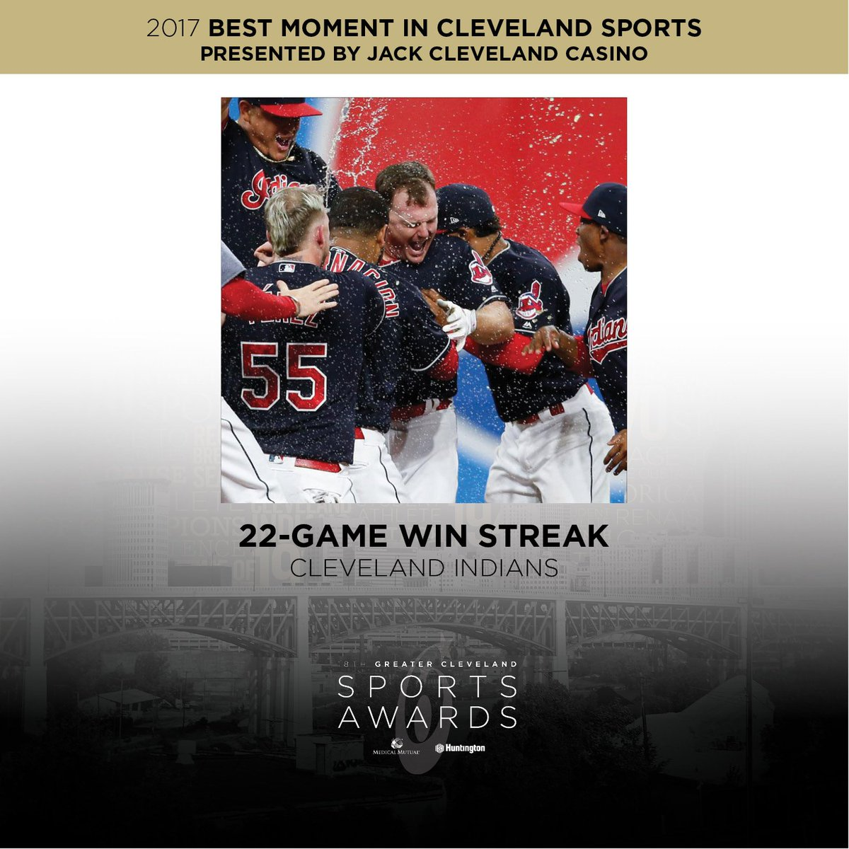 Greater Cleveland Sports Commission On Twitter 2017 Was Another