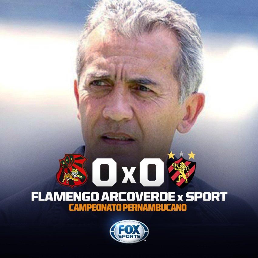 GOLS? HOJE NÃO! ⚽❌ O @sportrecife visita o Flamengo Arcoverde em busca de uma vitória na estreia do Campeonato Pernambucano, mas a bola resolve não entrar!