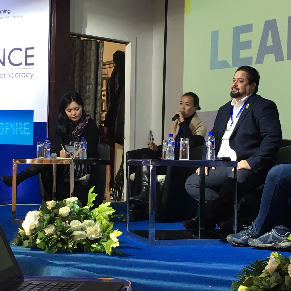 &quot;Take an inclusive approach to how you&#39;re a change maker&quot; @hulancka founder of @lhamourskincare at #LEADalliance Summit. #inclusion matters to #SocialEntrepreneurship <br>http://pic.twitter.com/6OMmqH2RkG