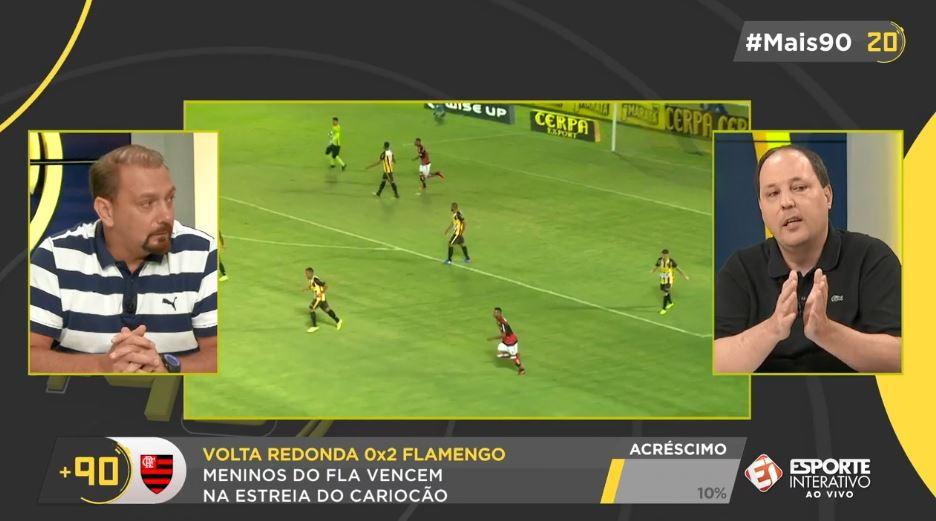 Flamengo venceu o Volta Redonda na estreia de Carpegiani! Vem com a gente no #Mais90 Rodada para acompanhar o melhor debate da TV brasileira!