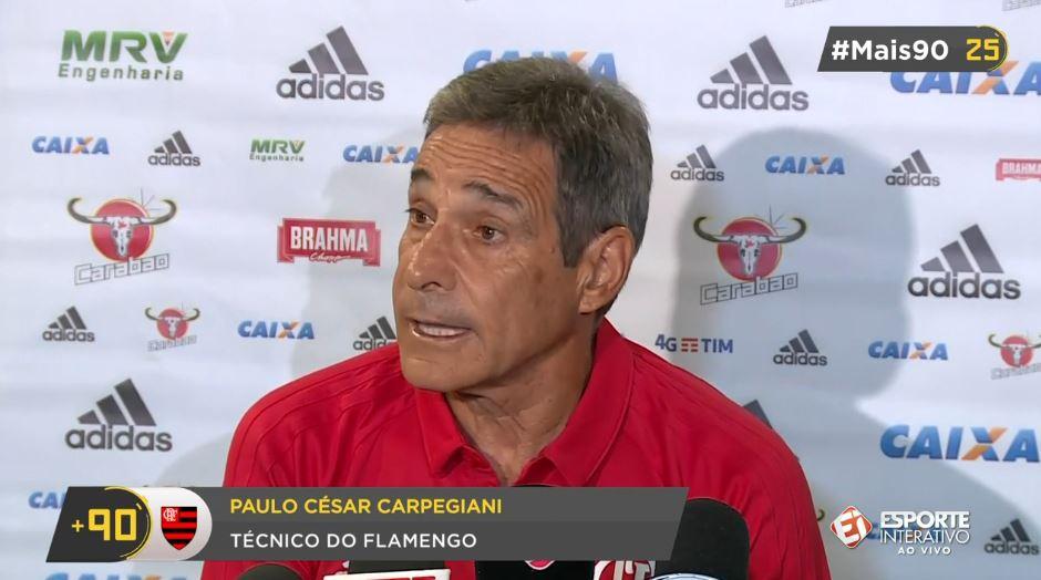 O técnico do Flamengo, Carpegiani, já admitiu que deve ter mudanças na equipe para domingo. Isso é ruim ou nesse começo tem que experimentar mesmo, torcedor? #Mais90 Rodada BOMBANDO!