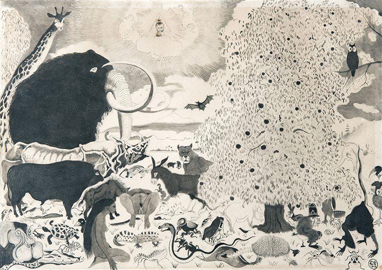 Léon Spilliaert- The Garden of Eden - Le...
