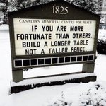 If you are more fortunate...Build a Longer Table! #edchat