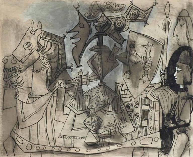 Pablo Picasso - Jeux de pages, Vallauris...