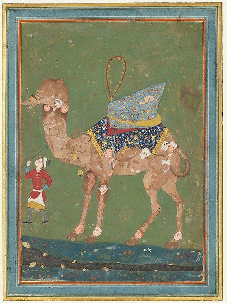 Composite Camel with Attendant, third qu...