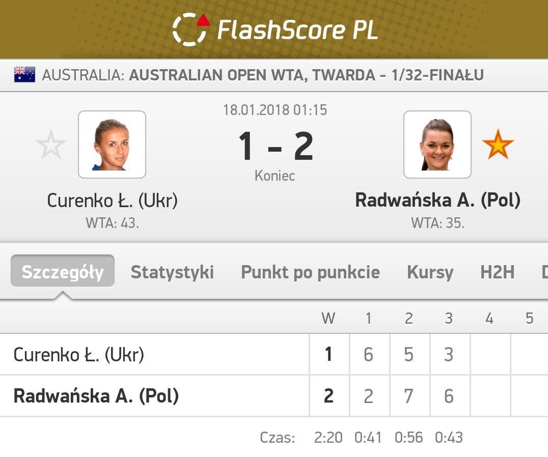 Brawo @ARadwanska 👏👏👏💪 #AusOpen #PolskaB...