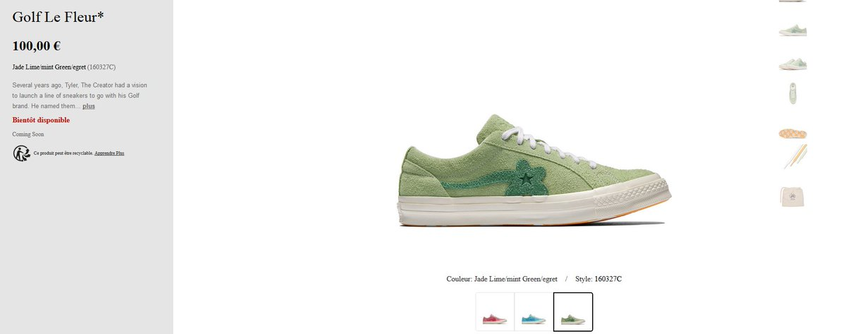 ... One Star Ox Golf Le Fleur   Pastel Pack  on Converse EU Store in 20min  FR http   tidd.ly 945171b0 UK http   tidd.ly 3bbd05b8 DE http   tidd.ly 143739fe  ... f181cc21c08