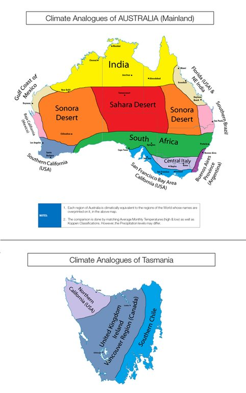 Darwin California Map.Simon Kuestenmacher On Twitter Map Shows Climate Analogues Of