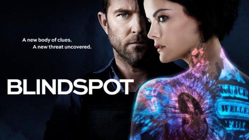 مسلسل #Blindspot يتجدد لموسم رابع 🎥 #تي_...